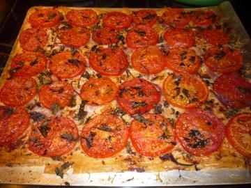 Phyllo dough Pizza